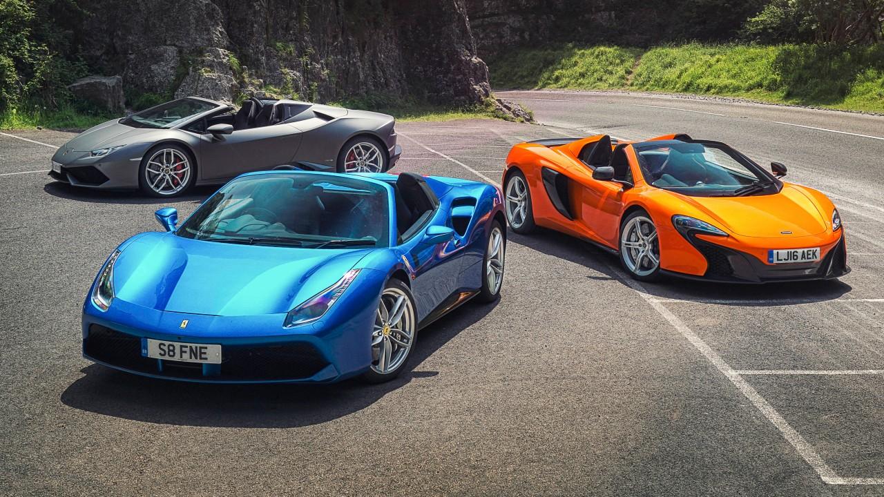 Ferrari-Lamborghini-McLaren