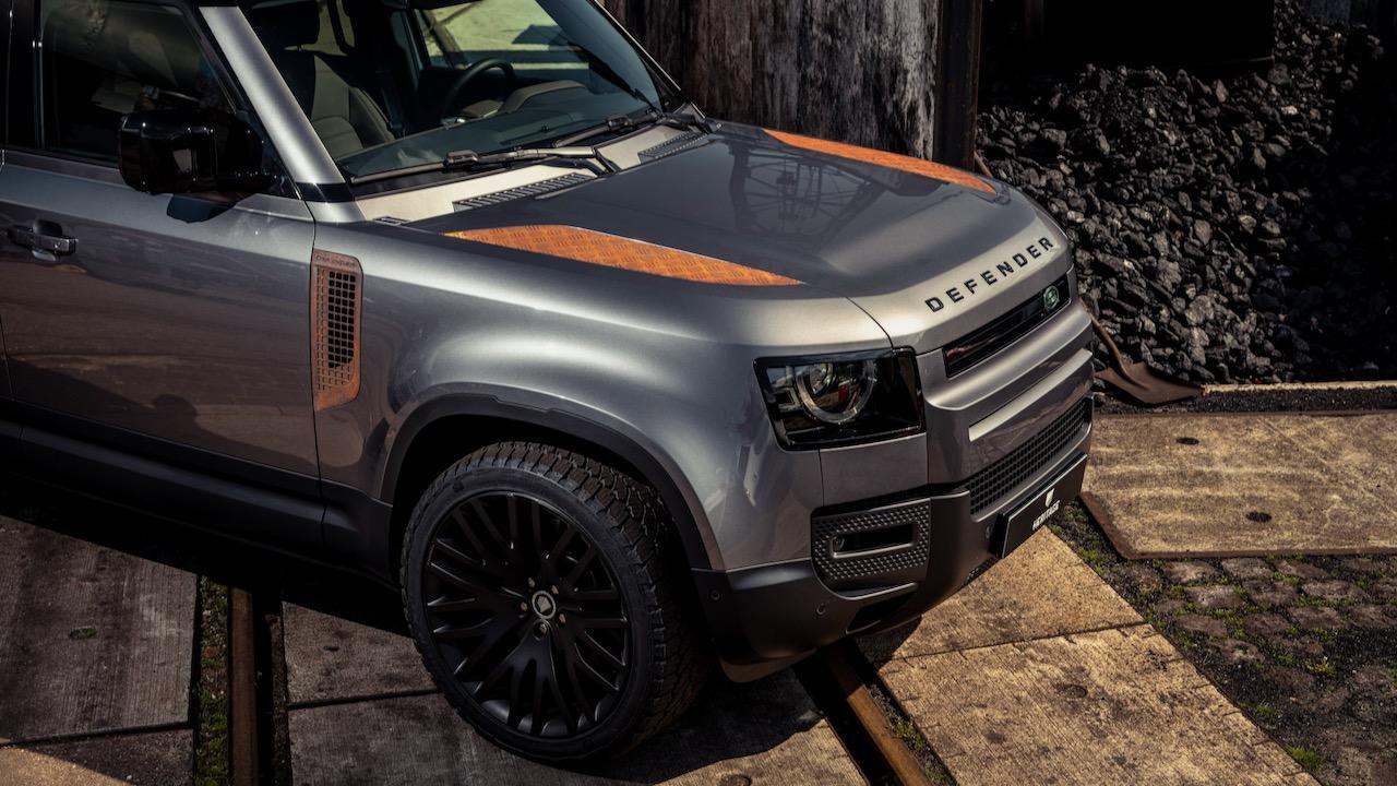 Land Rover Defender piezas efecto oxido – 11