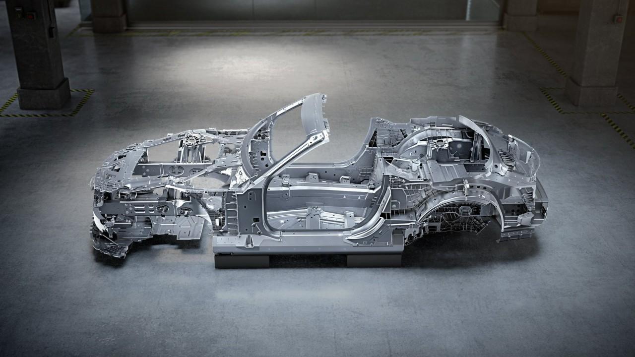 Mercedes-Benz SL 2022 Chasis (2)