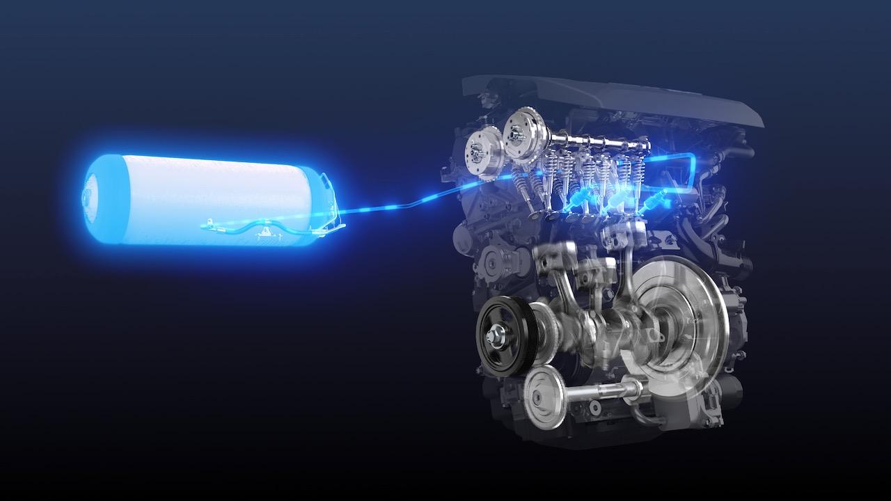 Toyota motor combustion hidrogeno – 1