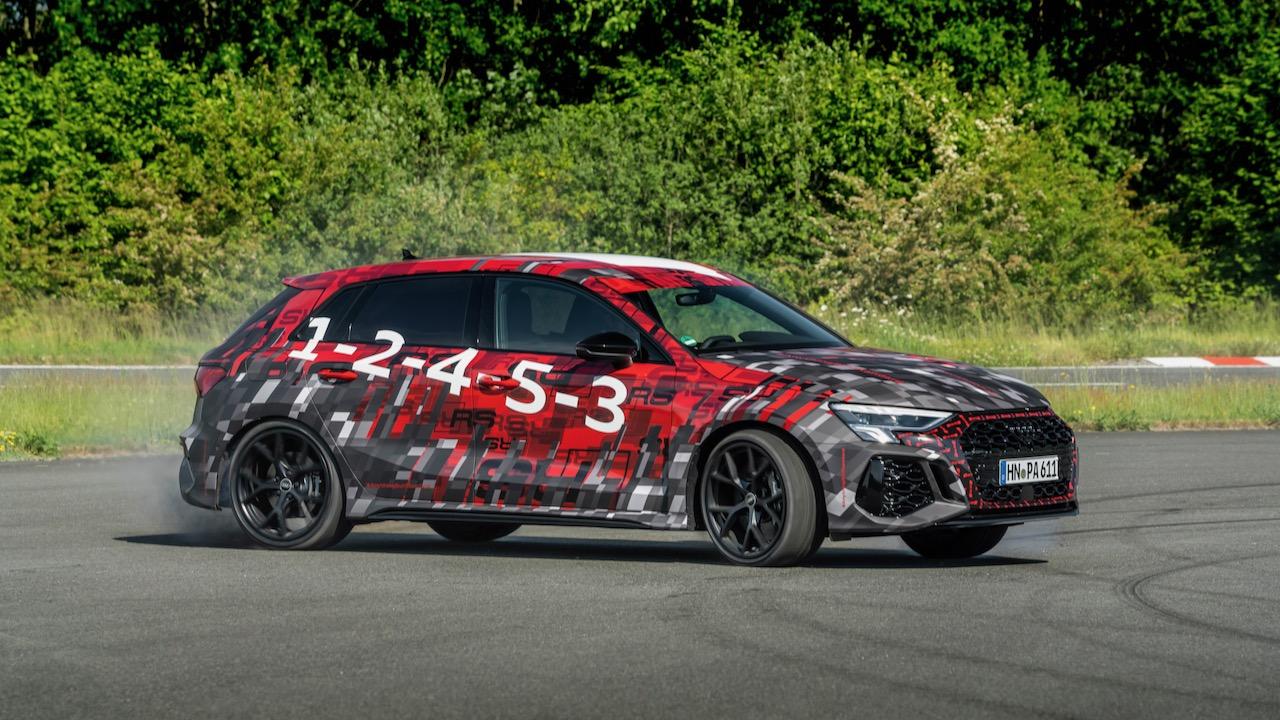 Audi RS 3 camuflado adelanto – 13