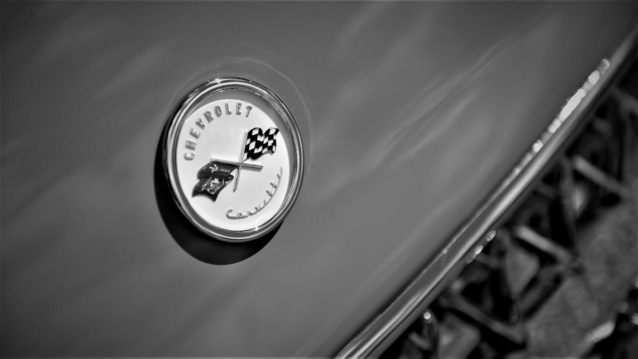 Chevrolet Corvette 1955 Logotipo