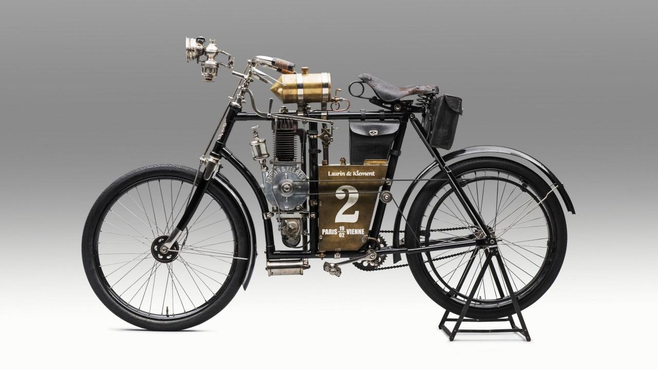Laurin & Klement Type B 1901 – Skoda Motocicleta (2)
