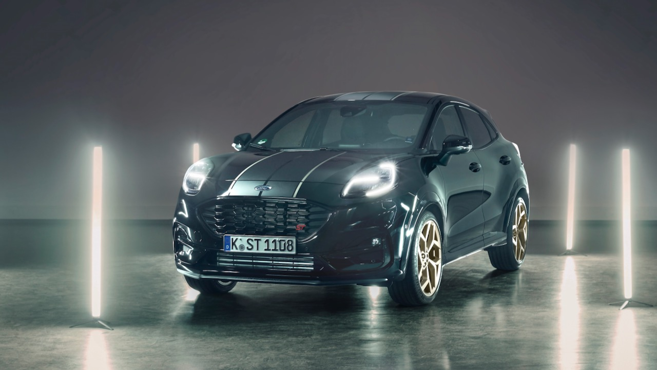 Designed by Fans, for Fans; Almost 275,000 Social Media Votes Help Create Exclusive New Ford Puma ST Gold Edition