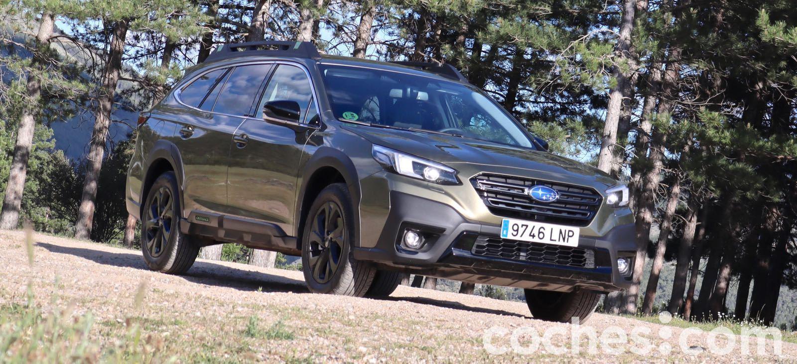 Subaru Outback Field prueba – 3