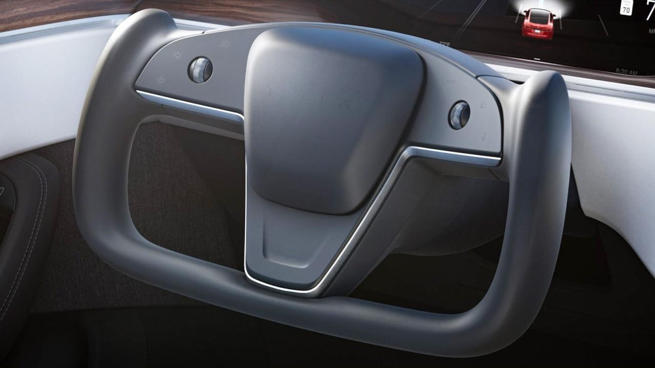 Tesla Model S Volante Yoke
