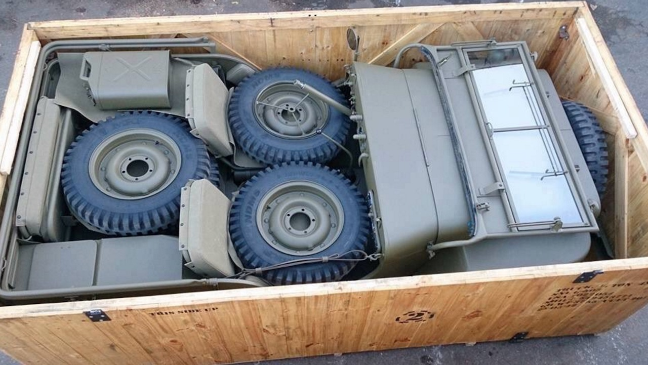 transporte Jeep Willys guerra – 3