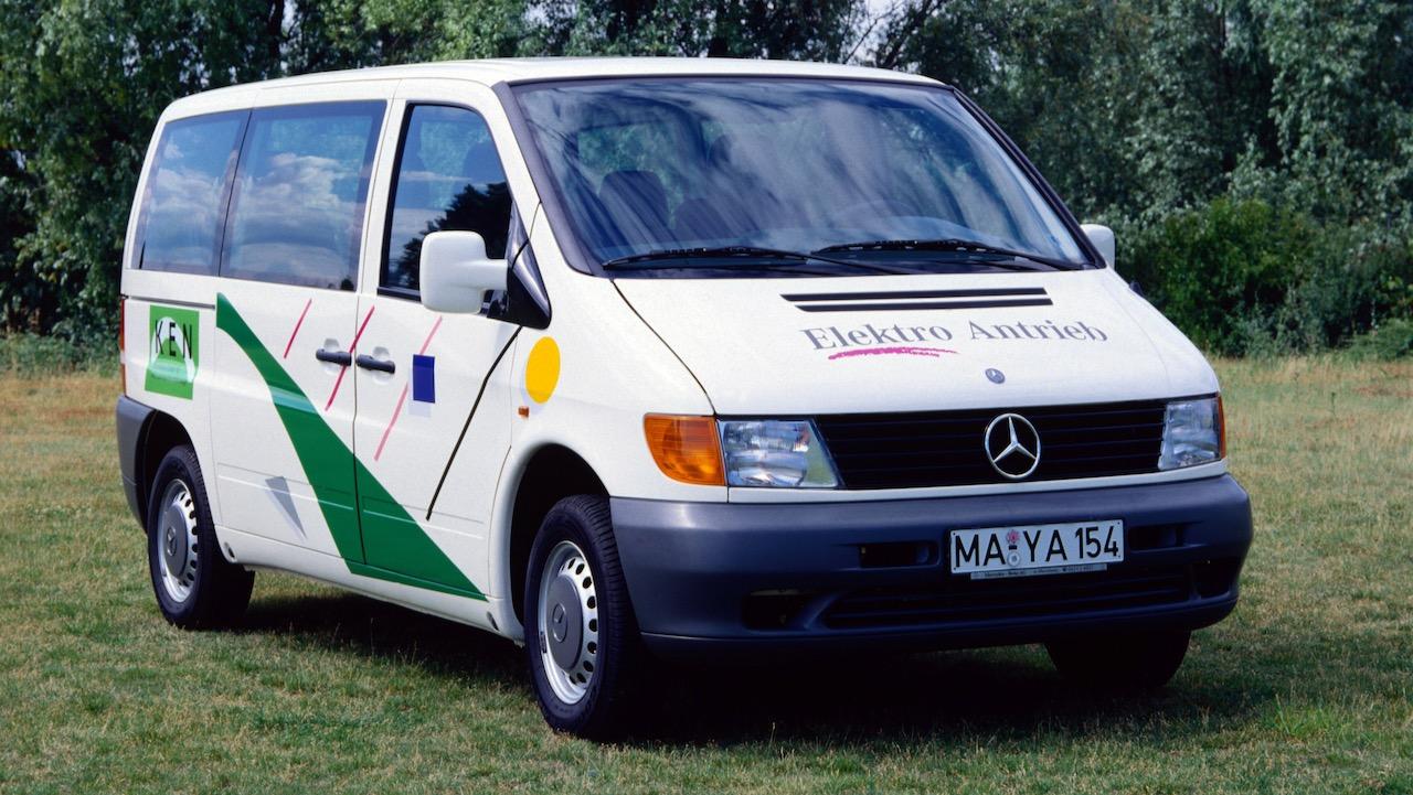 Vor 25 Jahren: Premiere des Mercedes-Benz Vito 108 E25 years ago: Premiere of the Mercedes-Benz Vito 108 E