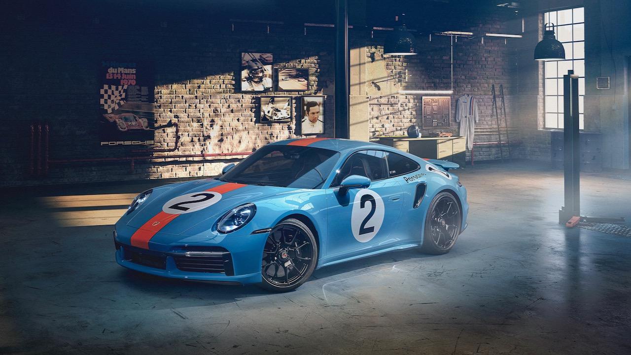 Porsche 911 Turbo S Gulf – 1