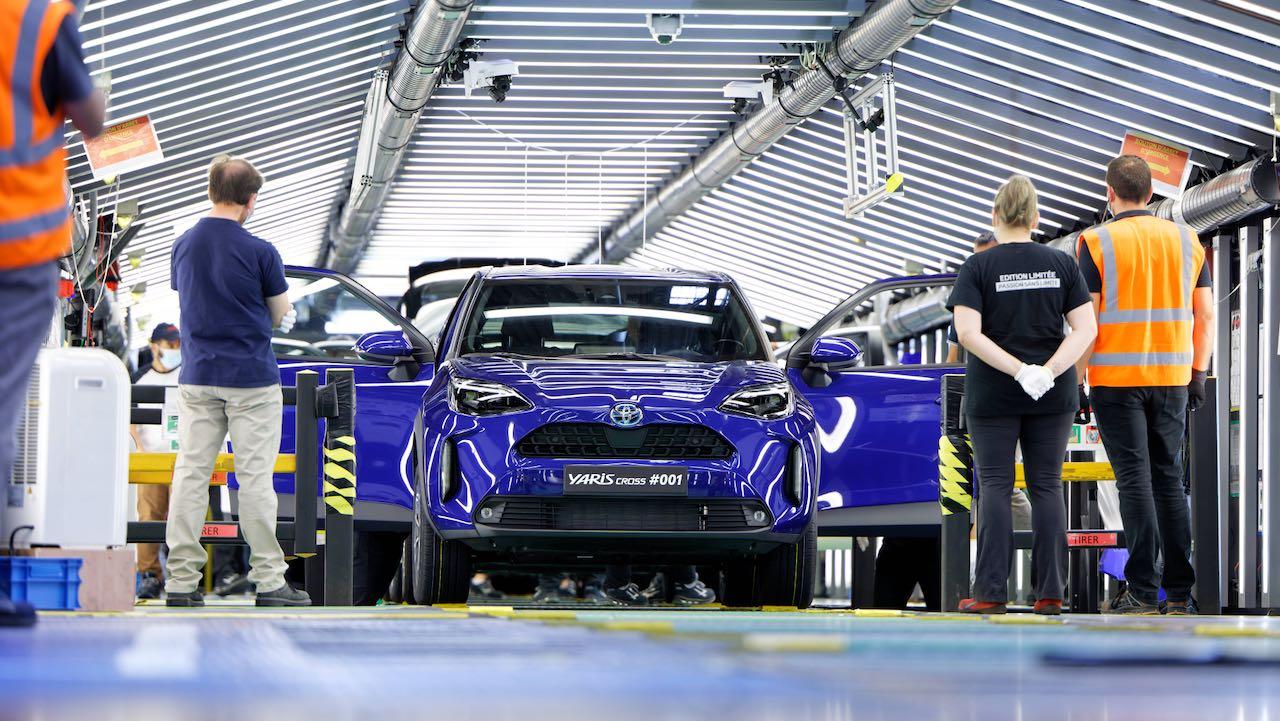Toyota Yaris Cross produccion fabrica – 1