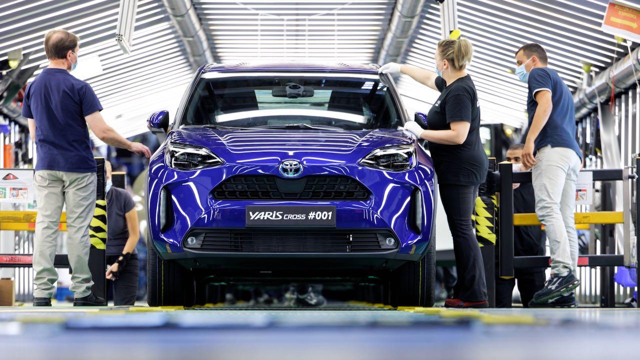 Toyota Yaris Cross produccion fabrica – 2