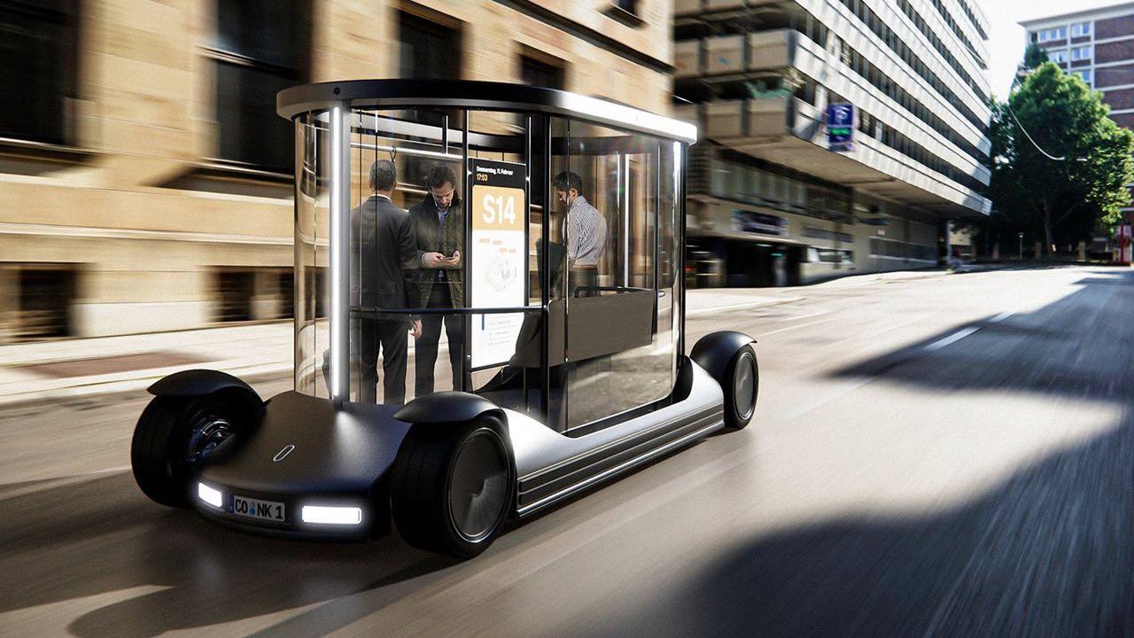 Campus Shuttle concept bus – 7