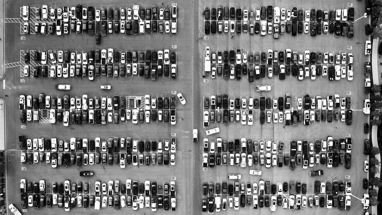 aparcamiento cenital