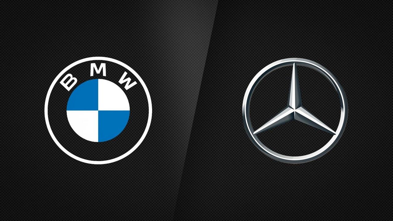 BMW y Mercedes-Benz Logotipos