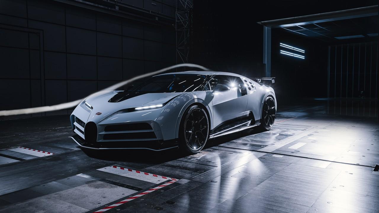 Bugatti Centodieci Túnel de Viento (1)