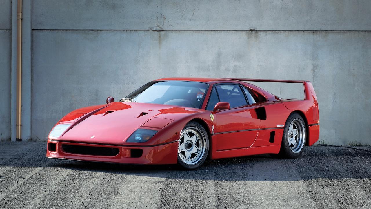 Ferrari F40 Valeo – 3