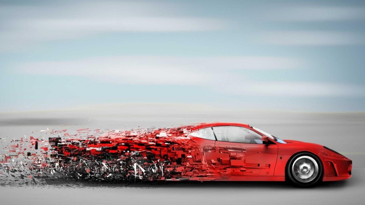 Ferrari F430 Descomposicion Velocidad