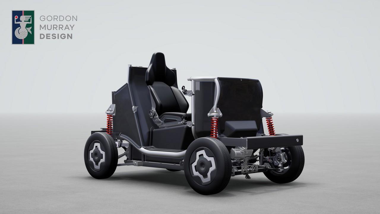 Gordon Murray Design iStream – Chasis Quadriciclo Electrico