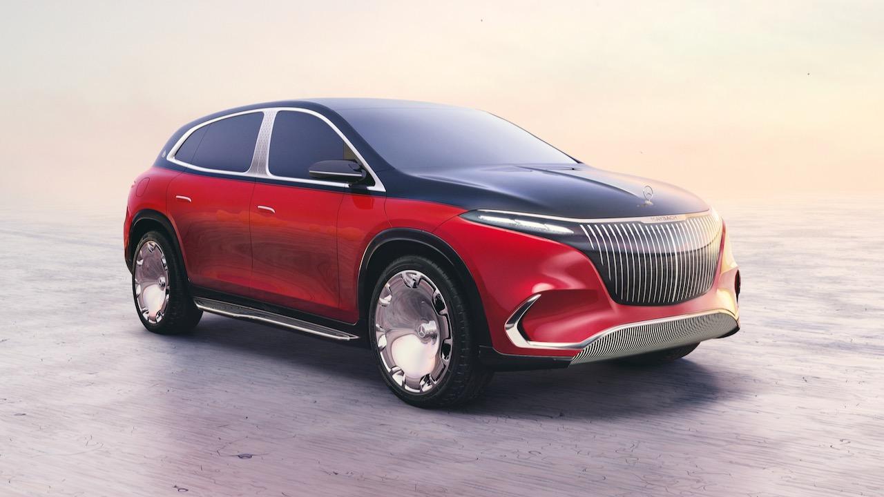 Concept Mercedes-Maybach EQS, IAA München 2021Concept Mercedes Maybach EQS, IAA Munich 2021