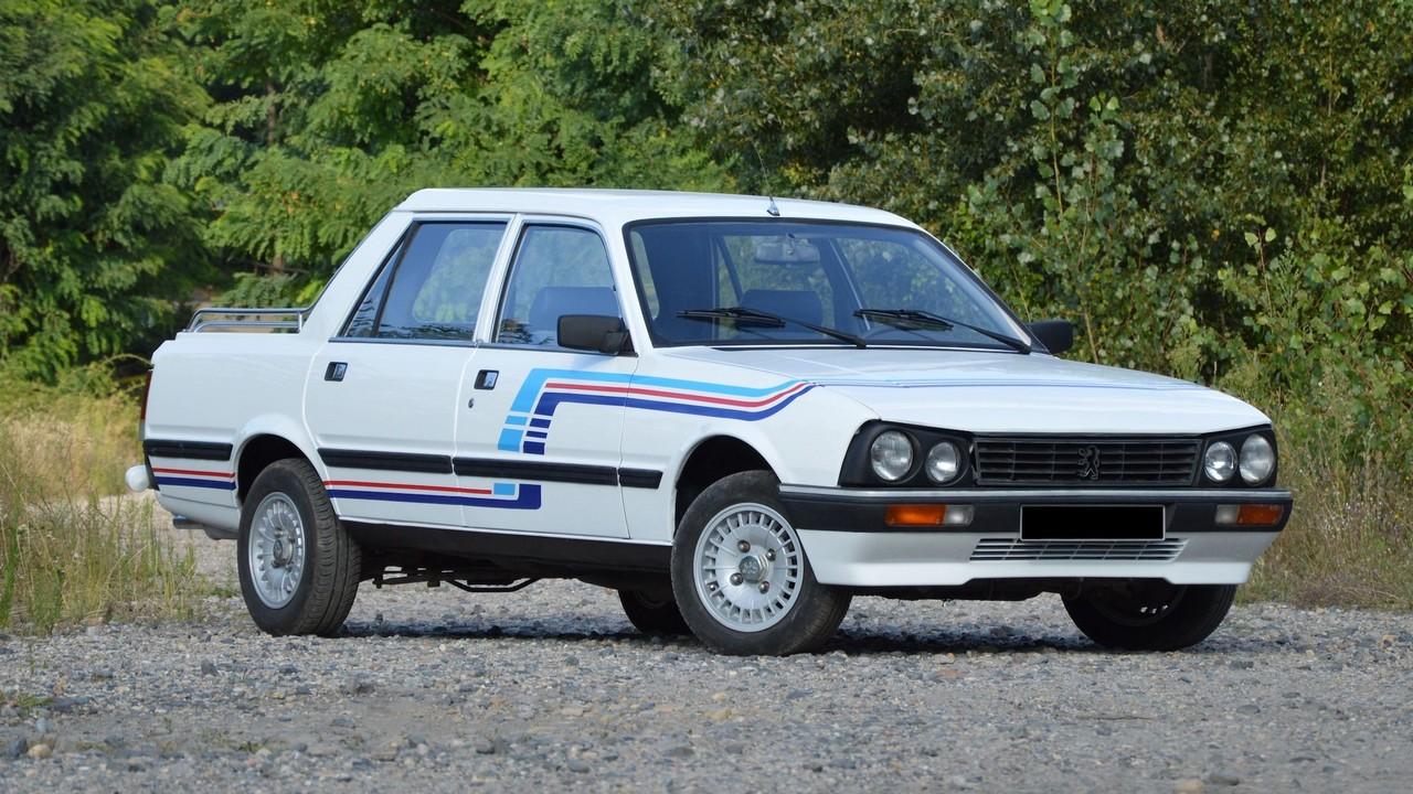 Peugeot 505 Pick-Up Double Cabine Gruau 1985 (1)