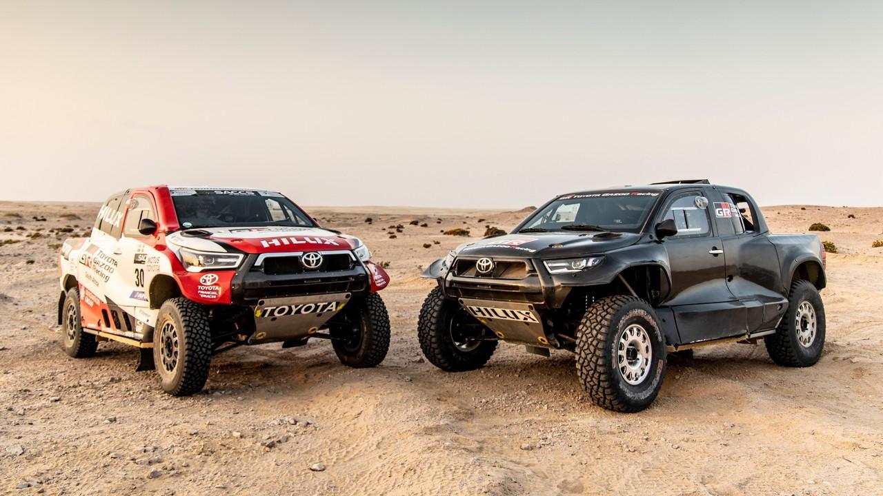 Toyota GR DKR Hilux T1+ Rally Dakar 2022 (1)