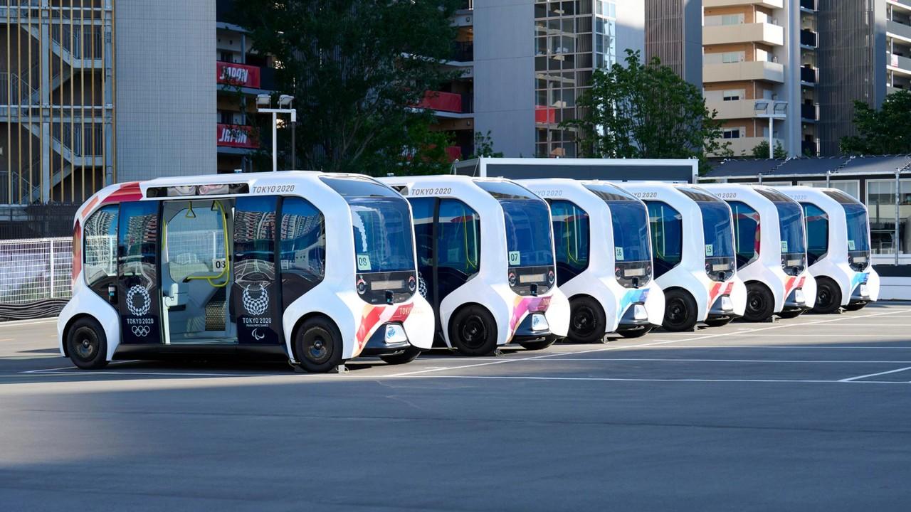 Toyota e-palette Juegos Olimpicos Tokio 2020
