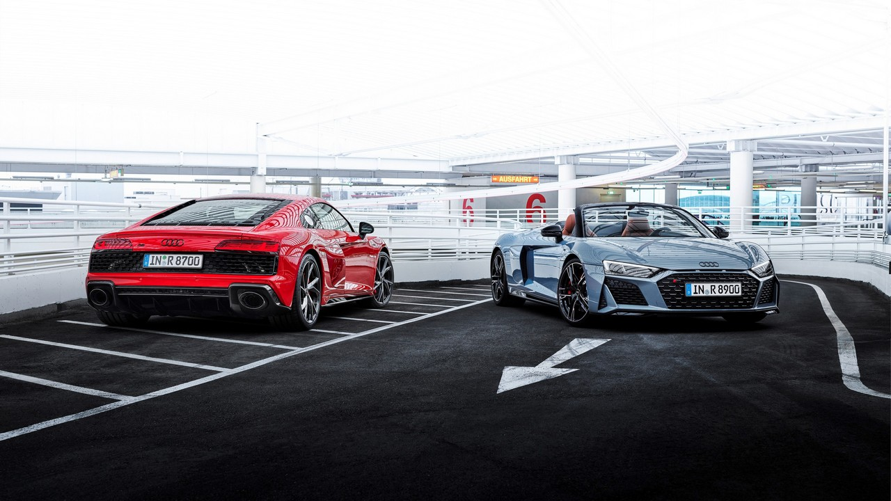 Audi R8 Coupé V10 performance RWD / Audi R8 Spyder V10 performa