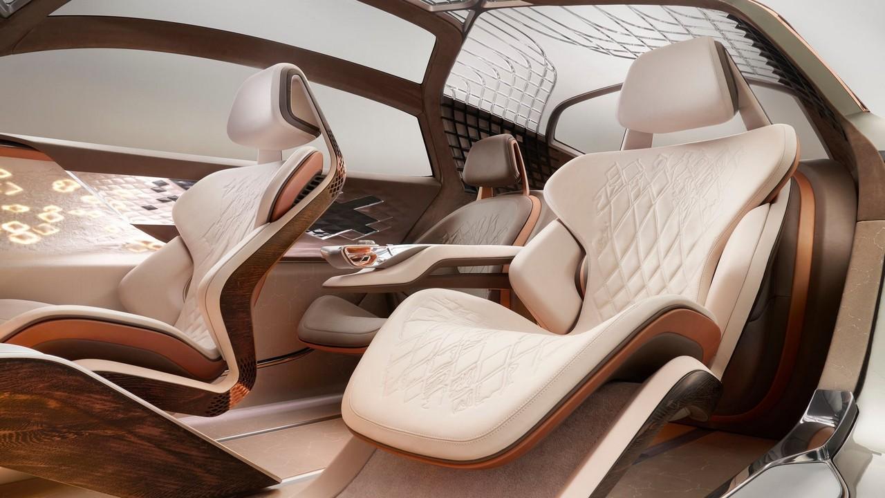 Bentley EXP 100 GT Concept 2019 – Interior