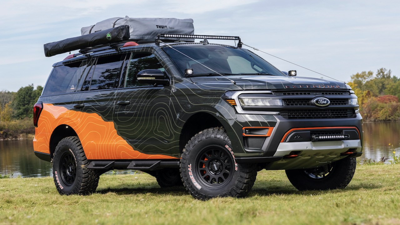 Ford Expedition Timberline Off-Grid Concept – 21