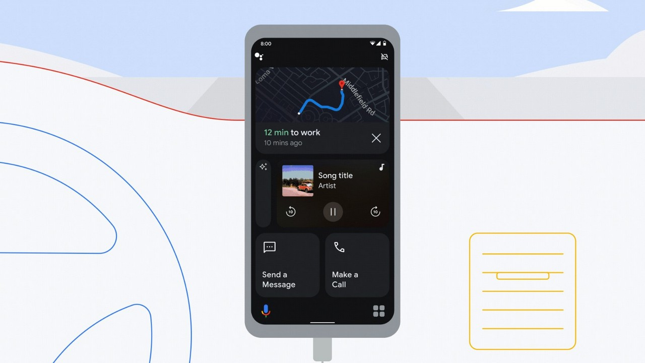 Google-Assistant-Driving-Mode