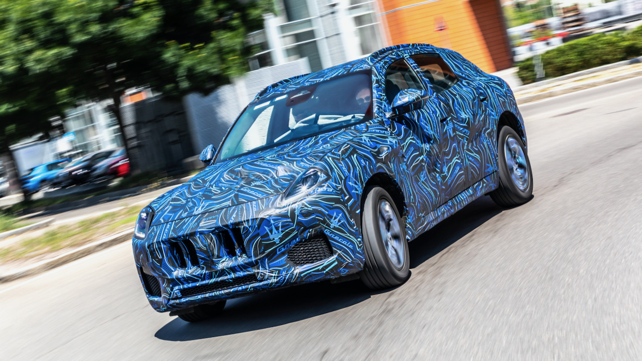 Maserati Grecale camuflado – 1