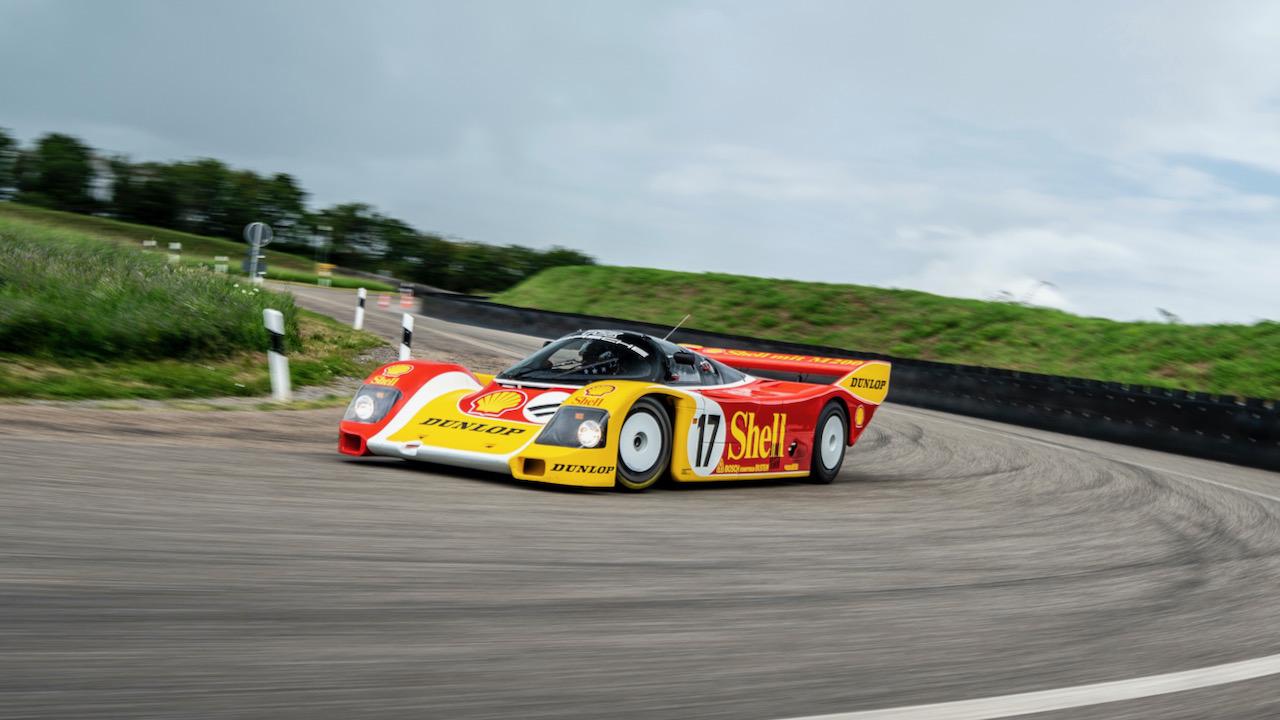 Porsche Museum 962c Shell Dunlop Workshop