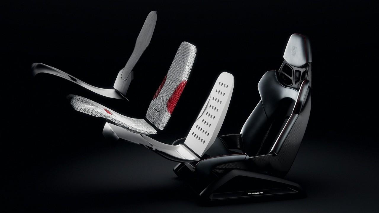 Porsche asientos impresos en 3D (1)