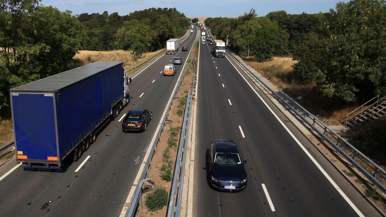 autopista A1 UK